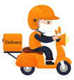 Delivery-man-is-wearing-a-mask-transparent-PNG